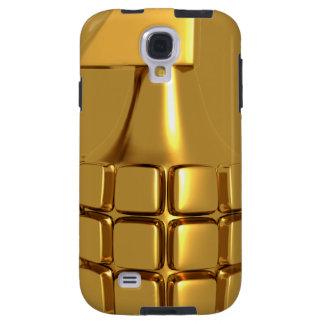 Caja de oro de la galaxia S4 de Samsung de la gran Funda Para Galaxy S4