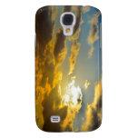 Caja de oro de la galaxia S4 de Samsung de las nub