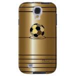 Caja de oro de la galaxia S4 de Samsung del estilo