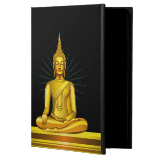 Caja de oro del aire del iPad de Buda