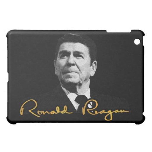 Caja de oro del iPad 1 de Ronald Reagan