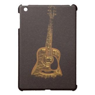 Caja de oro del iPad del instrumento de música de
