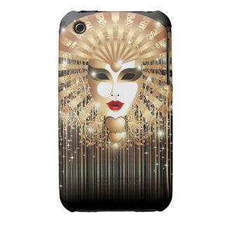 Caja de oro del iPhone 3G del fiesta del carnaval iPhone 3 Cobreturas