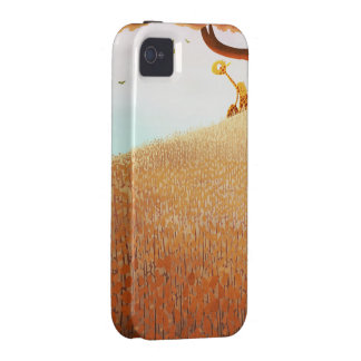 Caja de oro del iphone Case-Mate iPhone 4 fundas