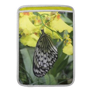 Caja de papel del aire de Macbook de la mariposa d Fundas Para Macbook Air