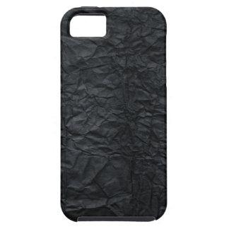 Caja de papel negra arrugada del iPhone 5 del Funda Para iPhone 5 Tough