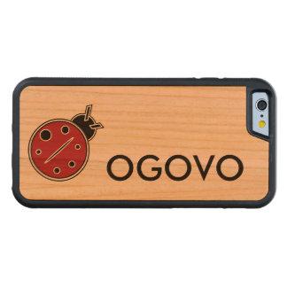 Caja de parachoques del teléfono de la cereza de funda de iPhone 6 bumper cerezo