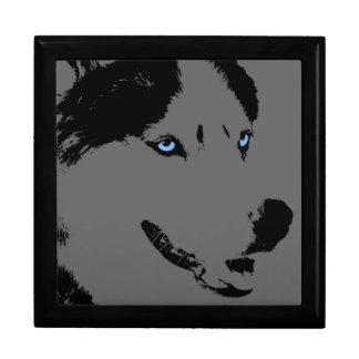 Caja de perro fornida de trineo del perrito del joyero cuadrado grande