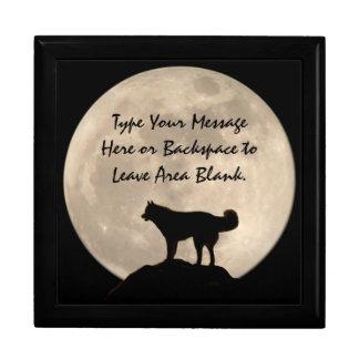 Caja de perro fornida personalizada joyero fornido caja de regalo