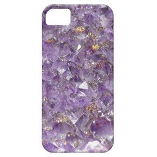 Caja de piedra Amethyst brillante de Iphone 5 de iPhone 5 Carcasa