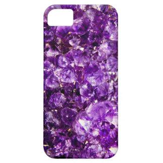 Caja de piedra violeta funda para iPhone 5 barely there