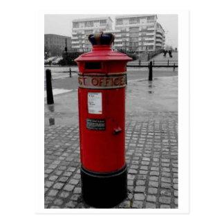 Caja de pilar británica - Special 1853 de Liverpoo Postales