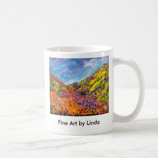 Caja de pinturas de dioses taza de café