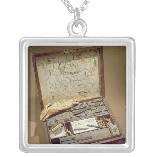 Caja de pinturas de John James Audubon Colgante