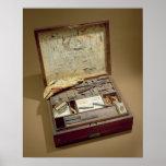 Caja de pinturas de John James Audubon Poster