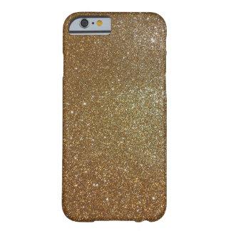 CAJA de plata del iPHONE 6 de Glit de la joya del Funda De iPhone 6 Barely There