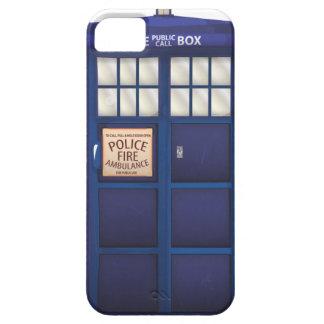 Caja de policía iPhone 5 carcasa