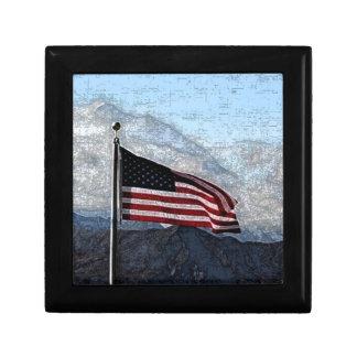 Caja de regalo americana del icono
