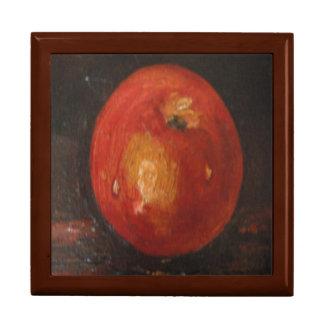 Caja de regalo Ana Hayes que pinta Apple Joyero Cuadrado Grande