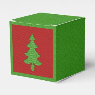 Caja de Regalo - Arbol de Navidad Caja Para Regalos