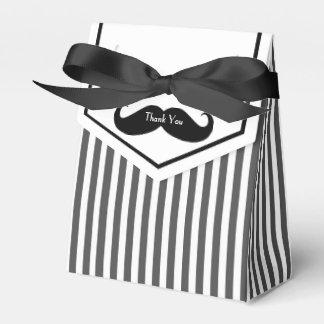 Caja de regalo blanco y negro del padrino de boda caja para regalos