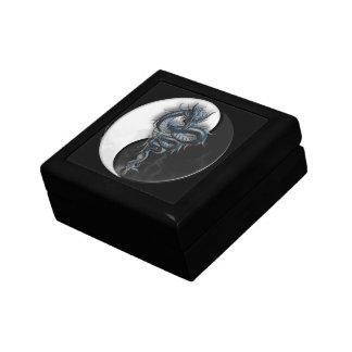 Caja de regalo china del dragón de Yin Yang