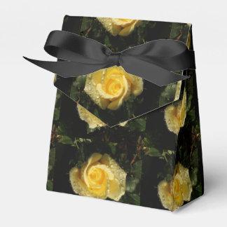 Caja de regalo color de rosa de oro cajas para regalos de boda
