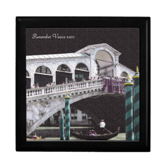 Caja de regalo - color del puente de Rialto en neg