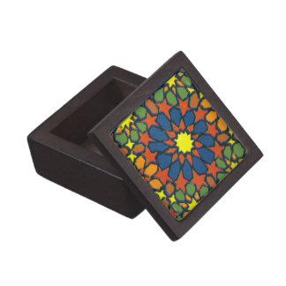 Caja de regalo con el modelo islámico tradicional cajas de regalo de calidad