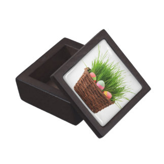 Caja de regalo cuadrada feliz de Pascua Cajas De Recuerdo De Calidad