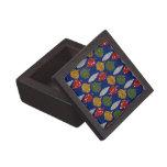 Caja de regalo cuadrada superior del navidad caja de regalo de calidad
