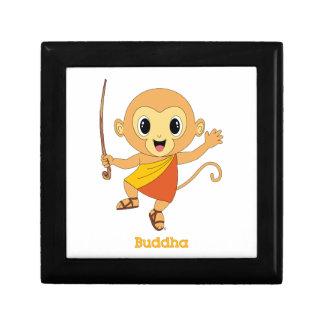 Caja de regalo de Buda Monkey™ Joyero Cuadrado Pequeño