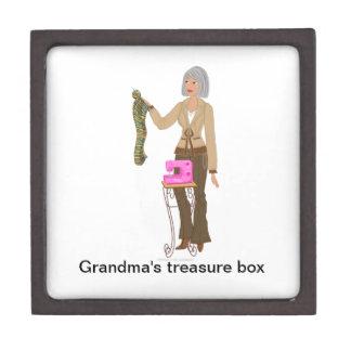"""Caja de regalo de DHG (medio 3"""" x 3"""") Cajas De Recuerdo De Calidad"""