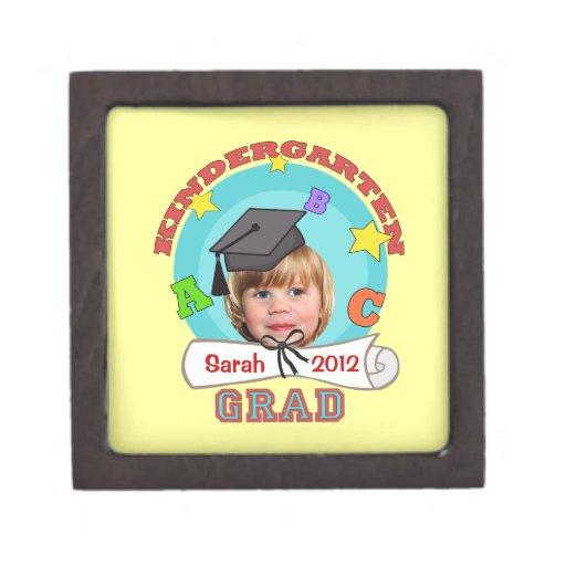 Caja de regalo de encargo de la graduación de la g caja de recuerdo de calidad