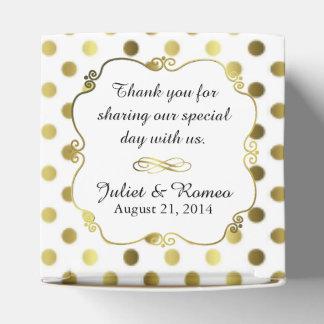 Caja de regalo de encargo del favor del boda del cajas para regalos de boda