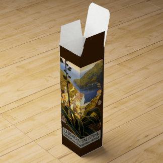 Caja de regalo de encargo del vino de Riviera Cajas Para Botellas De Vino