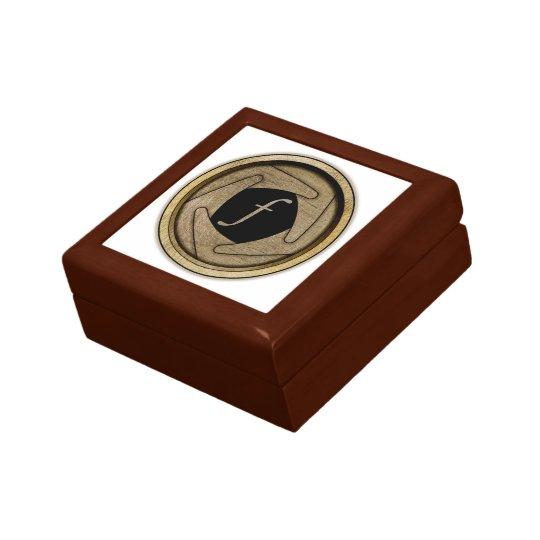 Caja de regalo de la abertura joyero cuadrado pequeño