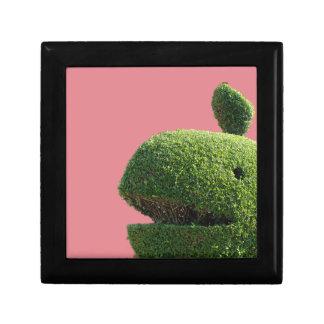 Caja de regalo de la ballena del Topiary