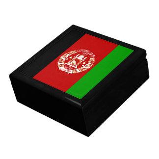 Caja de regalo de la bandera de Afganistán