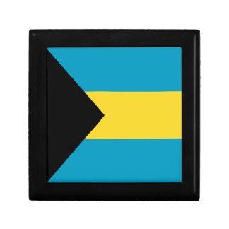 Caja de regalo de la bandera de Bahamas