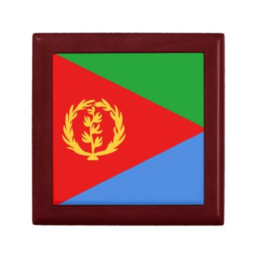 Caja de regalo de la bandera de Eritrea