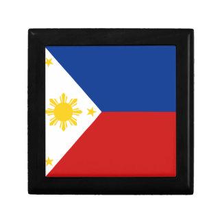Caja de regalo de la bandera de Filipinas