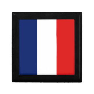 Caja de regalo de la bandera de Francia
