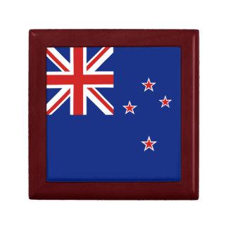 Caja de regalo de la bandera de Nueva Zelanda