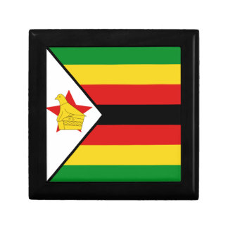 Caja de regalo de la bandera de Zimbabwe