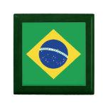 Caja de regalo de la bandera del Brasil