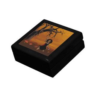 Caja de regalo de la bruja de Halloween