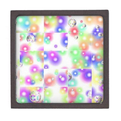 Caja de regalo de la burbuja del rompecabezas cajas de recuerdo de calidad