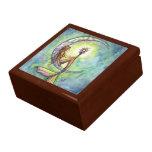 Caja de regalo de la caja de la baratija de la joyero cuadrado grande