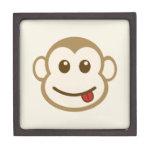 Caja de regalo de la cara del mono cajas de joyas de calidad